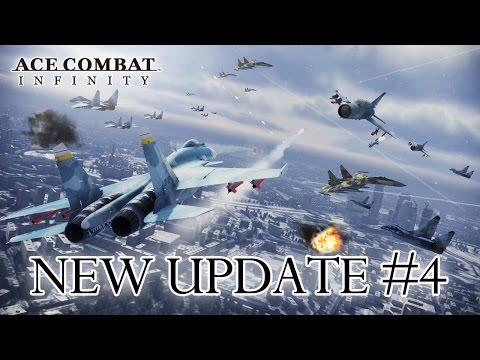 Ace Combat Infinity - PS3 - Update #4 News Dispatch (Trailer)