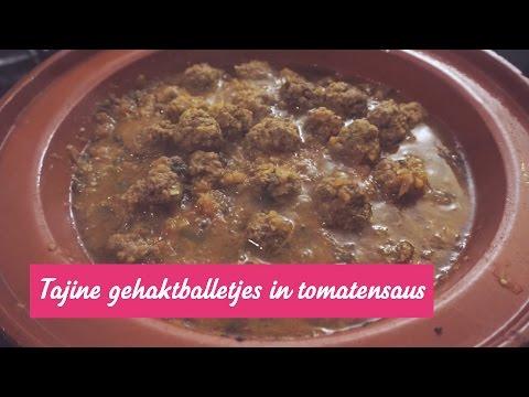 Tajine gehaktballetjes in tomatensaus - Healthy Sisters
