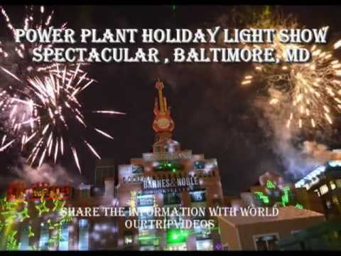 Pictures of Power Plant Holiday Light Show Spectacular - Inner Harbor, Baltimore, MD, US