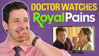 Real Doctor Reacts to ROYAL PAINS | Medical Drama Review