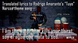Narcos Theme Song Translated