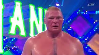 WrestleMania 34   Brock Lesnar vs Roman Reigns  YouTube