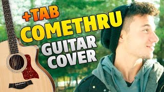 Jeremy Zucker - Comethru (Fingerstyle Guitar Cover and TAB)