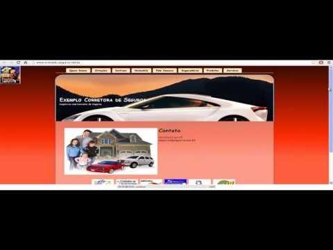 Sites gratis para corretoras de seguros.