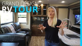RV TOUR: HOW TO ORGANIZE   2018 GRAND DESIGN REFLECTION 312BHTS