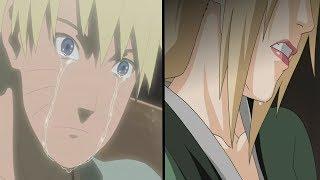 Naruto y Tsunade lloran por la muerte de Jiraiya | Naruto Shippuden | Sub español