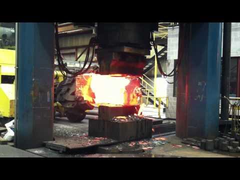 Forging 4330V Tapered Ingot