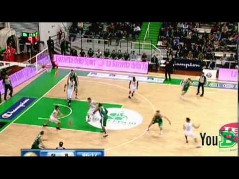 Highlights Montepaschi Siena - Benetton Basket 28a giornata serie A 2011 2012