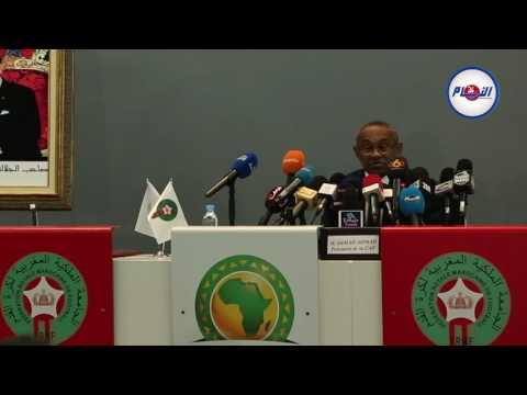 رئيس الكاف و احتضان المغرب لمونديال 2026