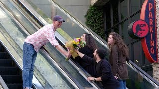 Andy & Jason's Awkward Encounters While Handing Out Flowers