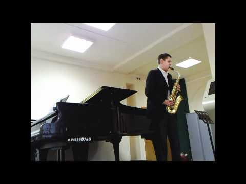 Piet Swerts «Klonos». Nikita Zimin (saxophone), Medvedev Nikolay (piano)