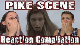 "The Walking Dead Season 9 Episode 15 ""Pike Scene"" Reaction Compilation"