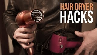 5 Pro Hair Dryer Life Hacks