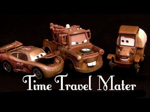 Time Travel Mater Toys 3-pack Cars Toons Radiator Springs Beginnings Stanley Mater Lightning McQueen - Smashpipe Entertainment Video