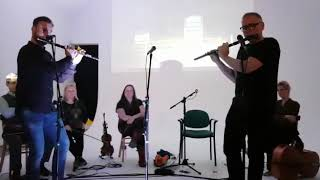 Michael Walsh - Irish Reels on Wooden Flutes from Michael Walsh & Quare Hawk featuring Paul Daly