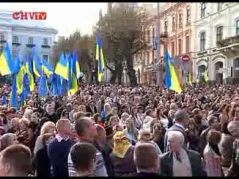 Буковинське віче зібрало у Чернівцях 15 тисяч людей