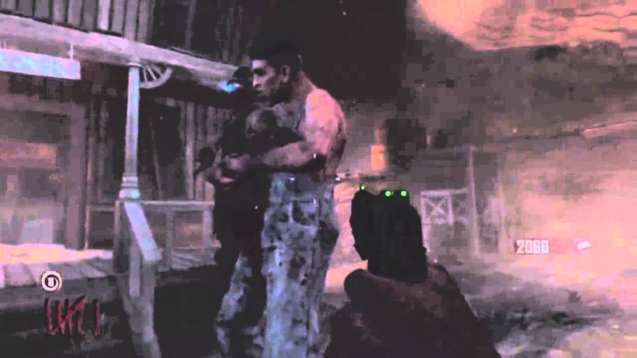Black Ops 2 Zombies Buried How To Make Leroy Carry A Crawler - BO2 Invincible Crawler Trick - Smashpipe Games Video