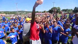 Watch Giants Odell Beckham Jr. dance party at his football camp