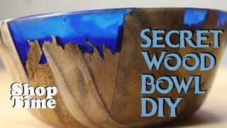Secret Wood Bowl DIY
