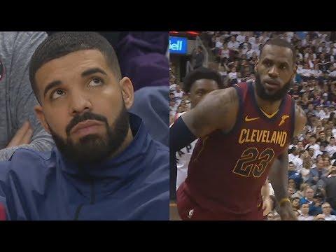 NBA Warns Drake! LeBron 43 Points Cavs Up 2-0! 2018 NBA Playoffs