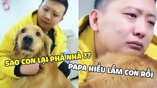 Lốp và Papa (Tập 3) : Papa hiểu lầm con rồi | Yêu Lu