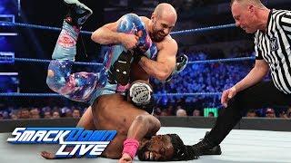 Kofi Kingston vs. Cesaro - Gauntlet Match Part 2: SmackDown LIVE, March 19, 2019