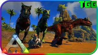 Ark Survival Evolved | Update 245 Allosaurus, Pelagornis, Industrial Grinder & Fishing (Ark Updates)