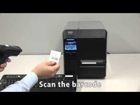 SATO AEP Aplicaciones corriendo en la Impresora