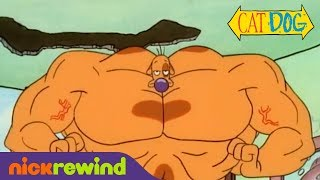 Dog Gets Buff | CatDog | NickRewind