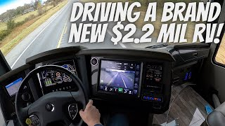 2021 NEWELL COACH TEST DRIVE and TOUR(with slides in)