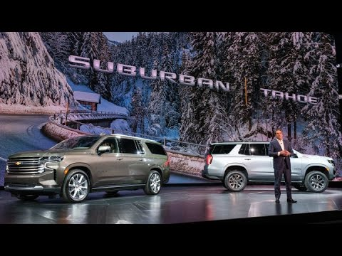 General Motors just unveiled its 2021 Chevy Tahoe and Suburban SUVs
