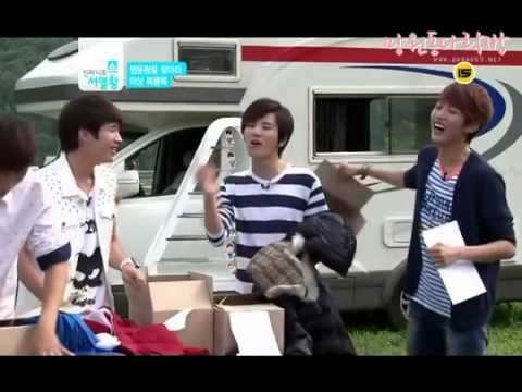 INFINITE Funny 'choosing outfits' game (Ranking King Ep.12)