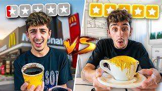 $1 Coffee VS $1,000 Coffee! (REAL 24 KARAT GOLD)