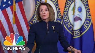 Nancy Pelosi: President Donald Trump Has Declared National Emergency 'On An Illusion' | NBC News