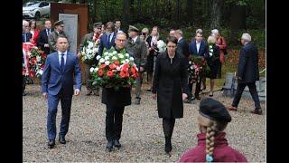 Miniatura video: Obchody 81. rocznicy niemieckiej zbrodni w Lesie Szpęgawskim