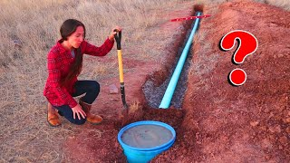 This INSPECTION Decides The Fate Of Our Off-Grid Cabin Build | DIY Septic System Completion