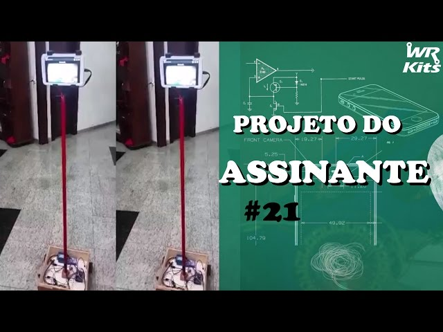ROBÔ DE TELEPRESENÇA COM ARDUINO E BLUETOOTH | Projeto do Assinante