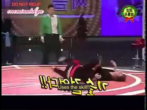 ENGSUB Hankyung gets flipped over