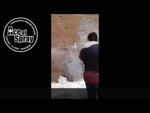 Ace of Spray: Professional Pressure Washing - Graffiti Removal in Chicago