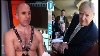 Trump Just Got Last Laugh On Matt Lauer After This Sleazy Video Surfaced Of Katie Couric – It's Bad