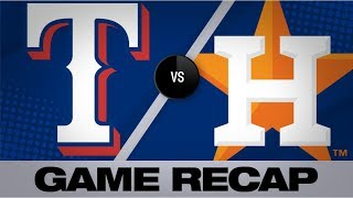 Gurriel, Urquidy power Astros to 6-1 victory | Rangers-Astros Game Highlights 7/20/19