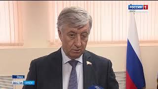 Депутат госдумы Виктор Шрейдер сегодня в очередной раз провёл личный приём граждан