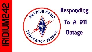 Ham Radio Saves The Day! 911 Outage In Town!
