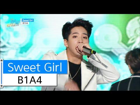 [HOT] B1A4 - Sweet Girl, 비원에이포 - 스윗 걸 Show Music core 20151226