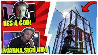 SYMFUHNY & STREAMERS COULDN'T BELIEVE THEIR EYES WHEN SPECTATING THIS *UNKNOWN* 14 YEAR OLD KID!