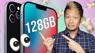 Latest iPhone 12 leaks! 128GB for 12 Pro/12 Pro Max, EarPods are out & iOS 14.2 unlocks emojis!