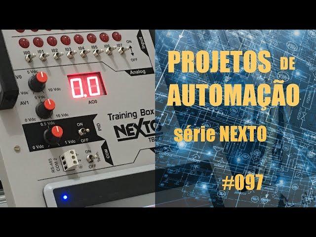 HOLDING REGISTER MODBUS RTU NO CLP NEXTO | Projetos de Automação #097