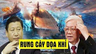 UY LỰC chiến hạm Quang Trung Bãi Tư Chính MÀN RUNG CÂY NHÁT KHỈ, phép thử đối với trung quốc