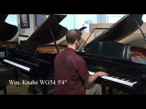 Comparing Knabe Baby Grand to Yamaha Baby Grand - Used Pianos Madison, WI
