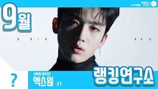 [랭킹연구소] 2019년 9월 보이그룹 순위 (남자아이돌 브랜드) | K-POP IDOL Boy Group Chart (September Brand)